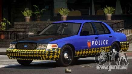 Ford Crown Victoria LT Police für GTA 4