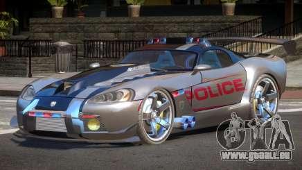 Dodge Viper SRT Police V1.1 für GTA 4