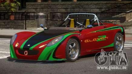 Lotus 2-11 R-Tuned pour GTA 4