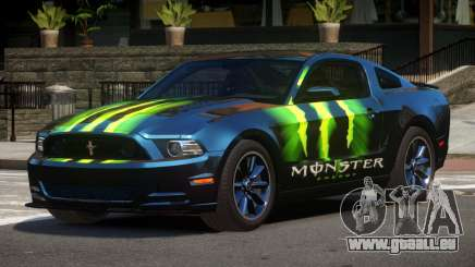 Ford Mustang B-Style PJ5 pour GTA 4