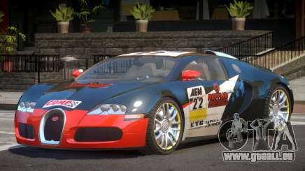 Bugatti Veyron 16.4 S-Tuned PJ3 für GTA 4