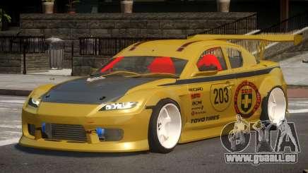 Mazda RX8 S-Tuned PJ3 für GTA 4
