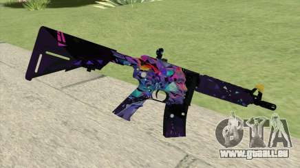 M4A4 (Glass Queen) pour GTA San Andreas