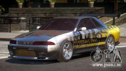 Nissan Skyline R32 D-Style PJ6 pour GTA 4