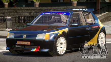 Peugeot 205 S-Tuning pour GTA 4