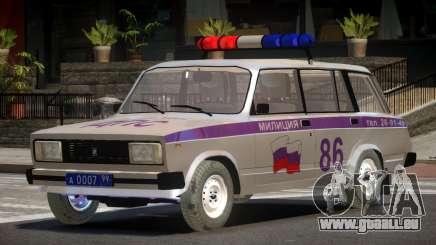 VAZ 2104 Police für GTA 4