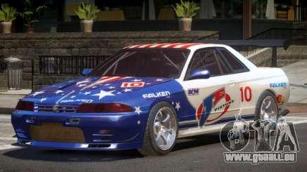 Nissan Skyline R32 D-Style PJ5 pour GTA 4