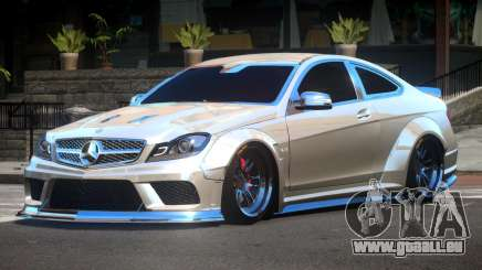 Mercedes Benz C63 AMG V2.1 pour GTA 4