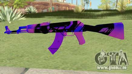 AK-47 (Purple) pour GTA San Andreas