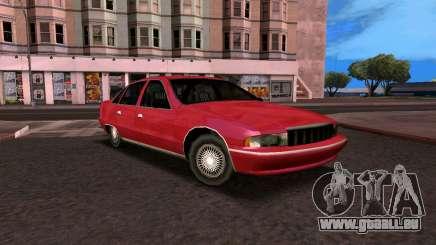 Chevrolet Caprice 1993 SA-Stil für GTA San Andreas