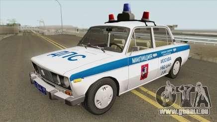 VAZ 2106 DPS (Police de Moscou) pour GTA San Andreas