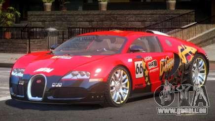 Bugatti Veyron 16.4 S-Tuned PJ2 für GTA 4