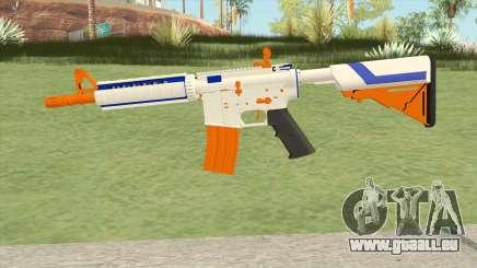 M4A4 (Nerfed) für GTA San Andreas
