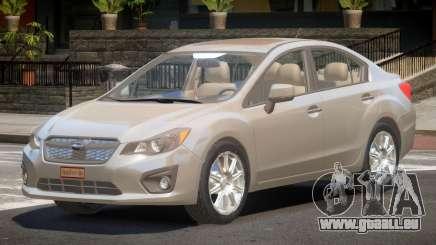 Subaru Impreza SN28 pour GTA 4