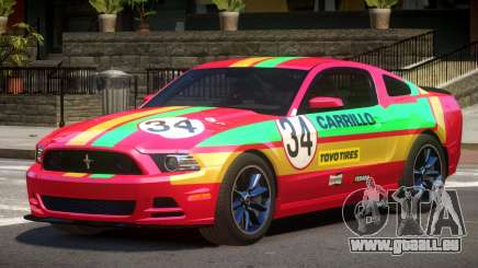Ford Mustang B-Style PJ2 pour GTA 4