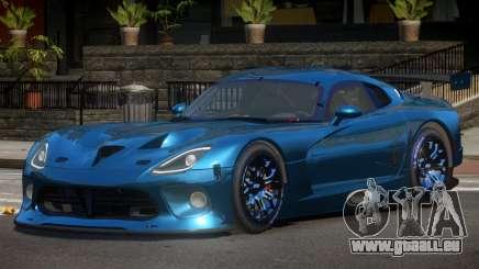 Dodge Viper SRT L-Tuning pour GTA 4