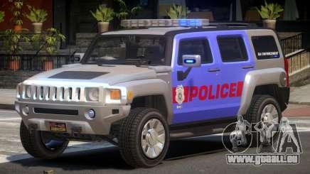 Hummer H3 Police V1.0 pour GTA 4