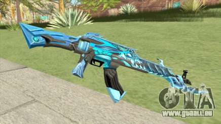 AK-47 (Unicorn Ice) pour GTA San Andreas
