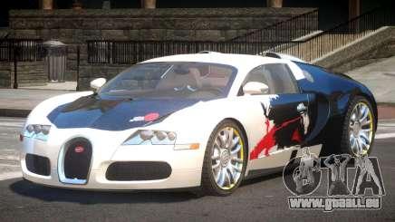Bugatti Veyron 16.4 S-Tuned PJ1 für GTA 4