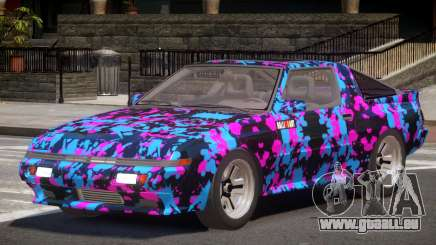 Mitsubishi Starion SR PJ4 für GTA 4