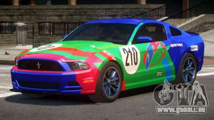 Ford Mustang B-Style PJ1 pour GTA 4