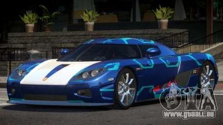 Koenigsegg CCX S-Tuned PJ2 pour GTA 4