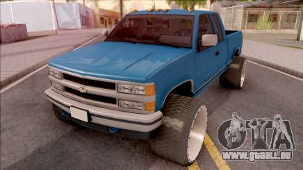 Chevrolet Silverado 1992 Lifted pour GTA San Andreas