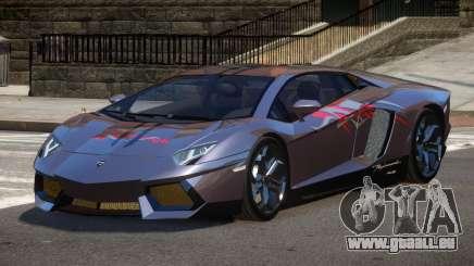 Lamborghini Aventador LP700 RP PJ3 pour GTA 4