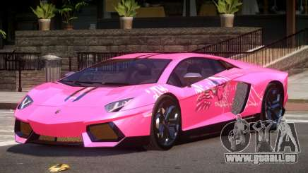 Lamborghini Aventador LP700 RP PJ4 pour GTA 4