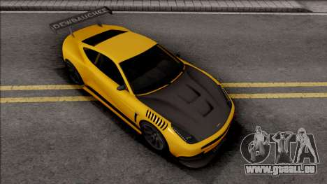 Dewbauchee Massacro Custom pour GTA San Andreas