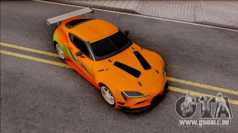 Toyota Supra A90 Fast & Furious pour GTA San Andreas