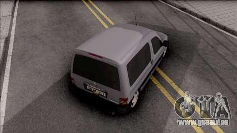 Peugeot Partner Origin 1.6 HDi 2012 pour GTA San Andreas