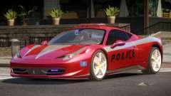 Ferrari 458 TR Police