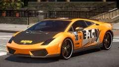 Lamborghini Gallardo LP560 MR PJ1 für GTA 4