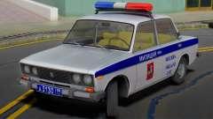 VAZ 2106 de la Police de Moscou