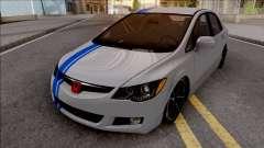 Honda Civic FD6 Grey