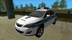 Die Kroatische Polizei Opel Astra
