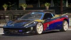 Ferrari 458 SR Police