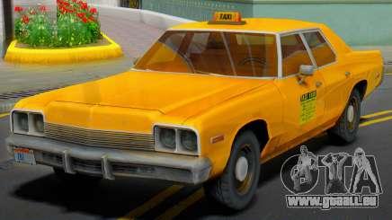 Dodge Monaco 1974 Taxi pour GTA San Andreas