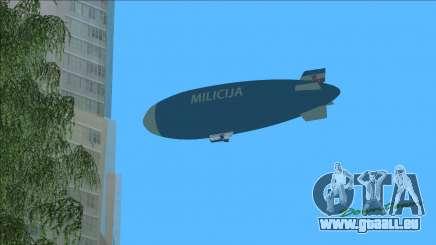 Luftschiff von jugoslawischen Milicija (Polizei) für GTA Vice City