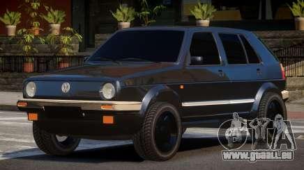 Volkswagen Golf 2 TR pour GTA 4