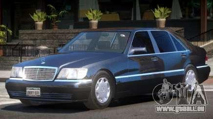 Mercedes Benz S600 V1.3 pour GTA 4
