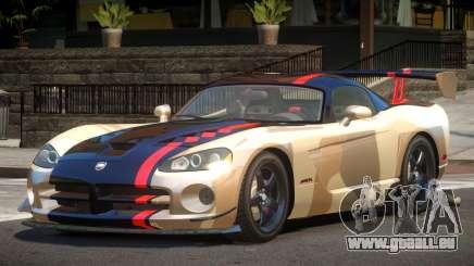 Dodge Viper SRT M-Sport PJ2 pour GTA 4