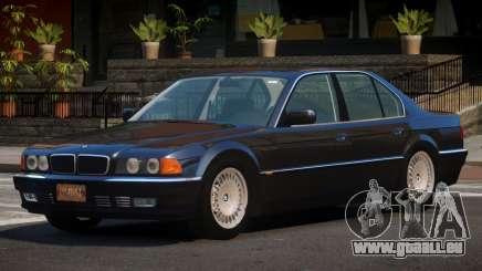 1994 BMW 750i E38 pour GTA 4