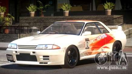 Nissan Skyline R32 V-Style PJ1 pour GTA 4
