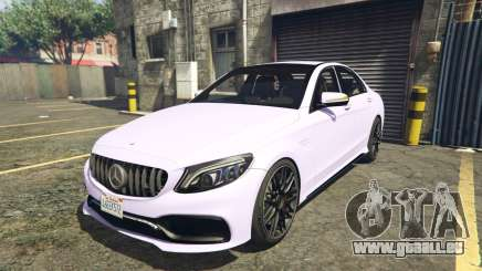 2020 Mercedes-AMG C63s AMG Replace 2.0 pour GTA 5