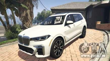 2020 BMW X7 Tuning v.1.0 [Add-On] pour GTA 5