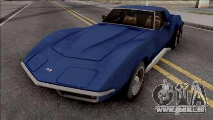 Chevrolet Corvette C3 Pickup für GTA San Andreas
