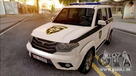 UAZ Patriot Serbian Military Police für GTA San Andreas