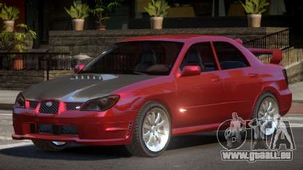 Subaru Impreza WRX S-Tuned pour GTA 4